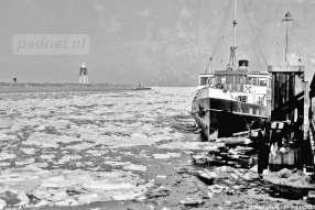 Dichtgevroren haven in 1963