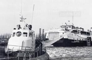 Oefening evacuatie van de PSD-veerboot