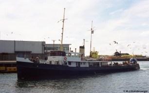 In de haven van Scheveningen