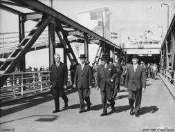 De opening van de haven Breskens