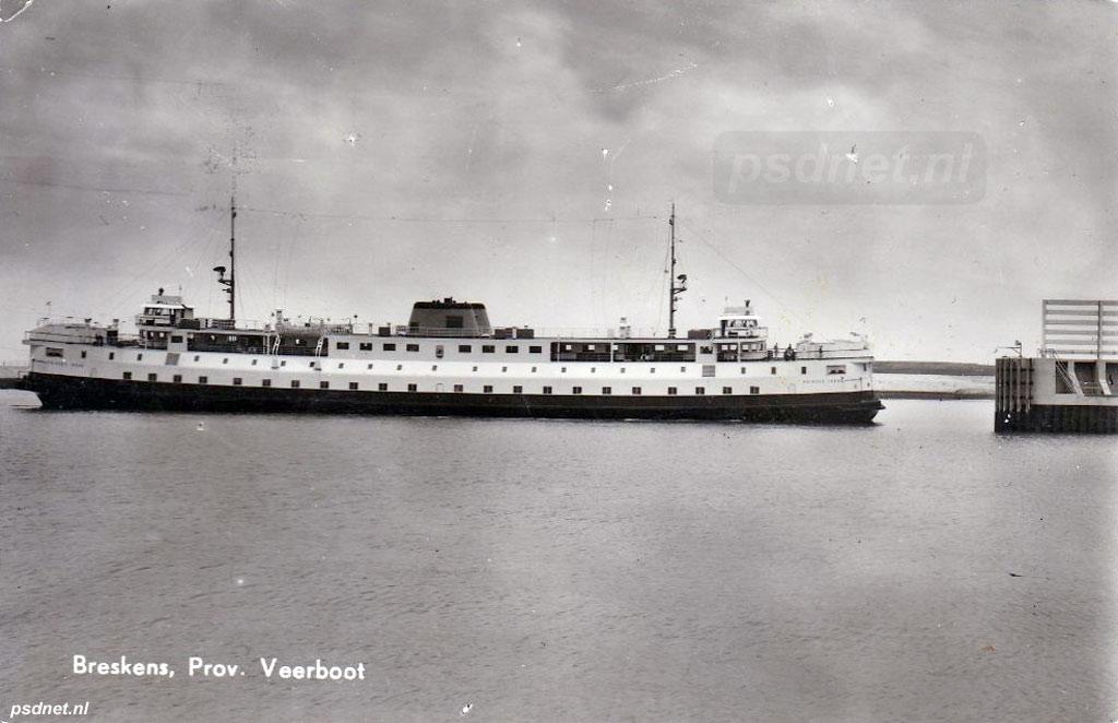 Breskens met veerboot Irene