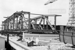 De nieuwe brug van Kloos Kinderdijk
