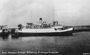Veerhaven Kruiningen voor 1953