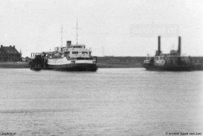 Veerhaven Kruiningen voor de Watersnoodramp