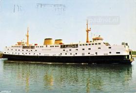Ansichtkaart veerboot Kruiningen