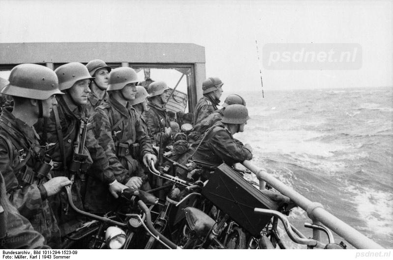 Luftwaffe op de Emma tijdens de oorlog