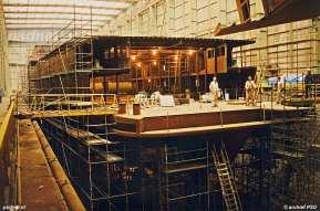 De vierde PSD-dubbeldekker krijgt vorm in maart 1993. Tien jaar later, in maart 2003, maakt de Koningin Beatrix de laatste PSD-afvaart na 137 jaar Provinciale Stoombootdiensten in Zeeland.