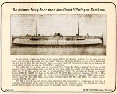 Nieuwe ferry in de krant