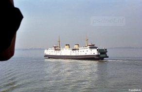Passage veerboot Kruiningen-Perkpolder