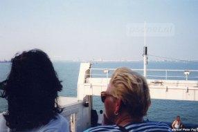 De twee nieuwste PSD-veerboten uit 1993 en 1997 hadden de beste mogelijkheden om aan dek te staan. Vooral voor op het promenadedek stonden passagiers graag tijdens de overtocht.