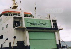 De nieuwe naam van de Prinses Juliana (1986) is Amedeo Matacena. Tegenwoordig ligt het schip in Reggio di Calabria in Italië.