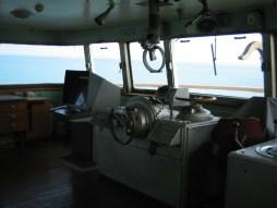 SMS Kartanegara - In het stuurhuis (2005)