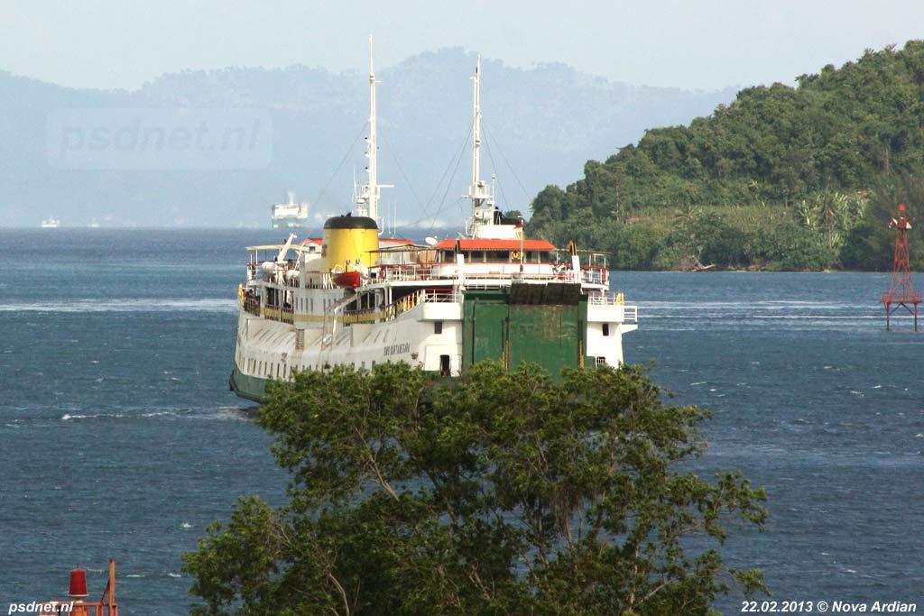 SMS Kartanegara - Passage in 2013 (6)