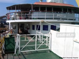 SMS Kartanegara - Stuurhuis en salon