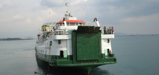 SMS Kartanegara – Vertrek naar Bakauheni