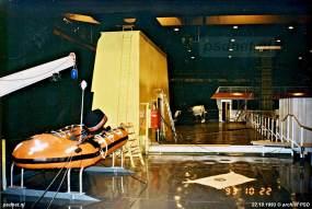 De Koningin Beatrix krijgt halverwege 1993 al goed vorm op de Vlissingse scheepswerf.