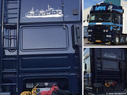 PSD op de vrachtwagen