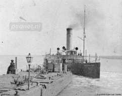 De veerboten van de PSD meerden lange tijd af aan een ponton in de buitenhaven van Vlissingen. In 1927-1928 kwam daar de eerste fuik bij, geschikt voor kopladingsveerboten.