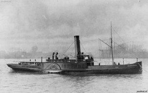 De nieuwe Westerschelde in 1905