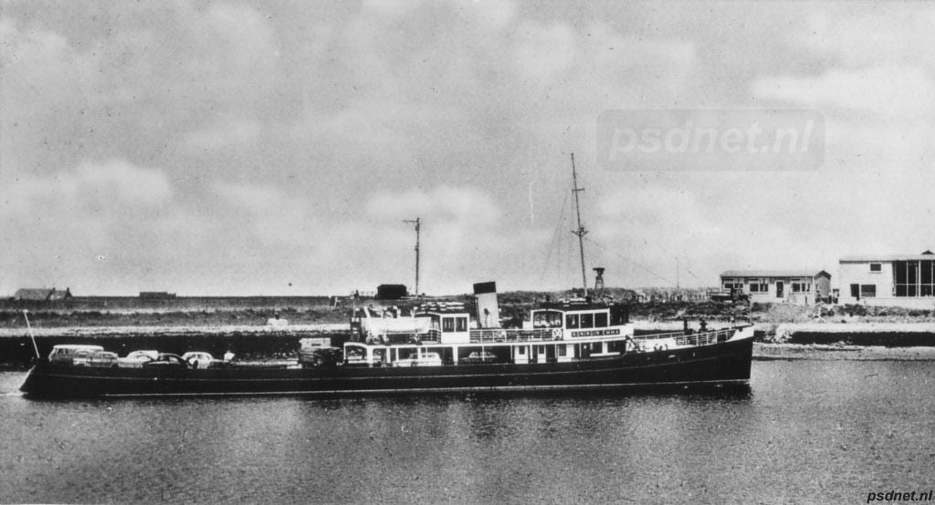 Een nieuwe veerhaven werd aangelegd in Zierikzee in 1958, net naast de huidige Zeelandbrug