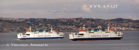 Zusterschepen herenigd in Italië
