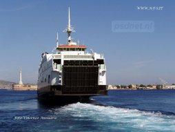 Van 14 tot 21 oktober 2004 voer de Athos Matacena voor het eerst tussen Messina en Reggio di Calabria.
