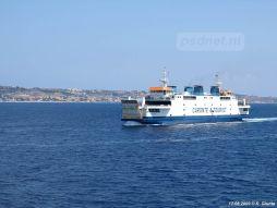 Tremestieri in een blauwe zee