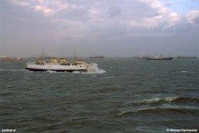 Ook bij zware storm werd er gevaren bij de PSD, mits de bemanning de veiligheid bij het afmeren kon garanderen. Op open zee konden de schepen wel tegen een stootje.