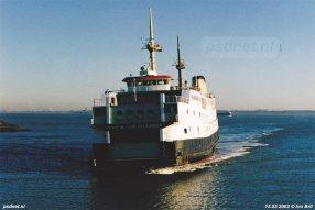 15 maart 2003: Aankomst Alexander in Perkpolder