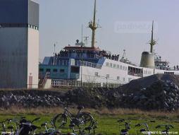 15 maart 2003: Drukte op de boot