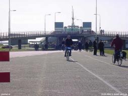 15 maart 2003: Veerplein met Willem-Alexander