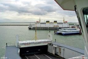 Niet veel later zouden de SWATH-veerboten het stokje overnemen van de PSD-dubbeldeksveerboten op de veerdienst Vlissingen-Breskens.