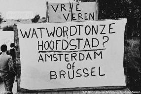 De strijdleuzen logen er niet om in 1958.
