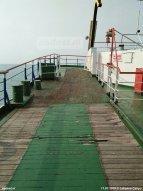 In Zeeland liep je hier in Breksens de veerboot op.