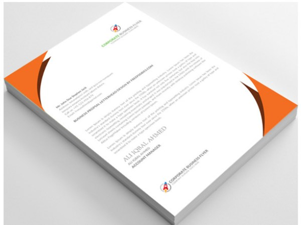12 free letterhead templates in psd ms word and pdf format it is yet another free letterhead template with goodness of all the rich photoshop features spiritdancerdesigns Choice Image