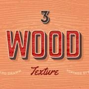 Free Retro Style Vector Wood Textures