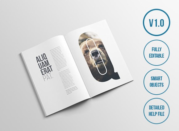 24 magazine mockup templates free psd download psdtemplatesblog 16 free magazine mockups pronofoot35fo Images