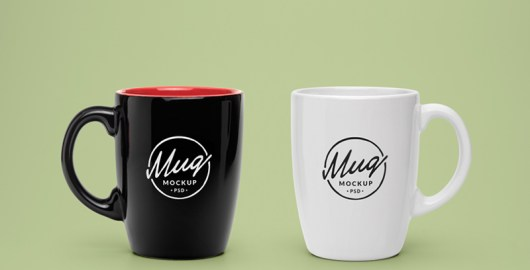 Coffee Mug Mockup PSD - Free Download