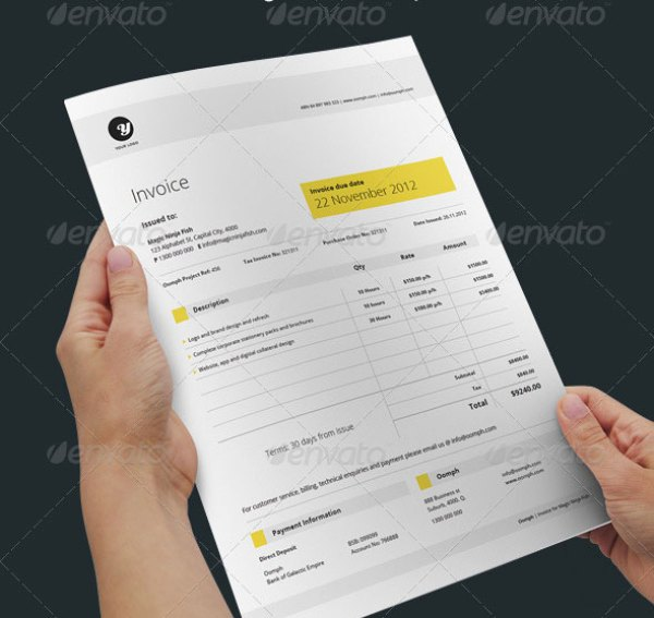 38 invoice templates psd docx indd free download psdtemplatesblog proposal template saigontimesfo
