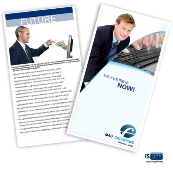 Simple Brochure Template PSD