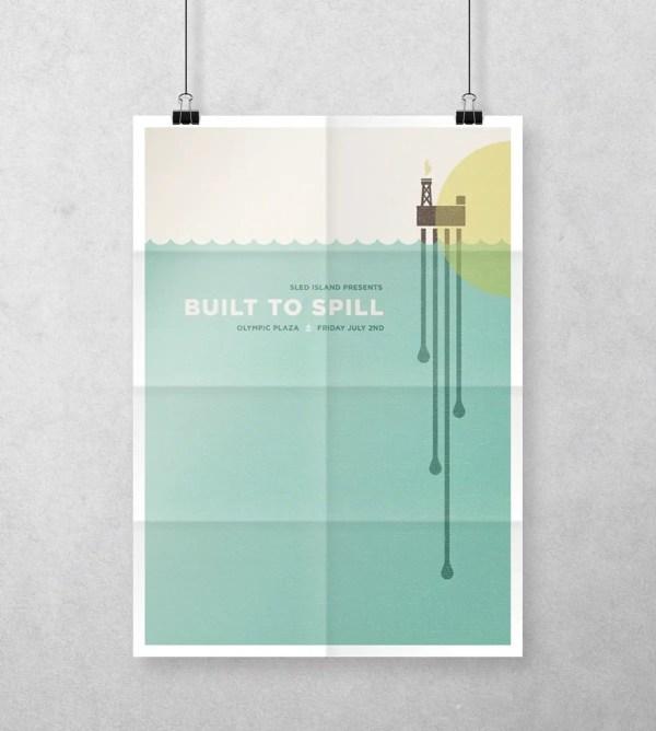 Free A4 Poster Mockup PSD