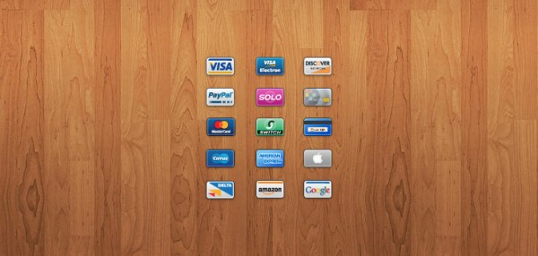 Free Mini Credit Card Icons