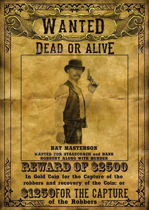 Wild West Wanted Poster