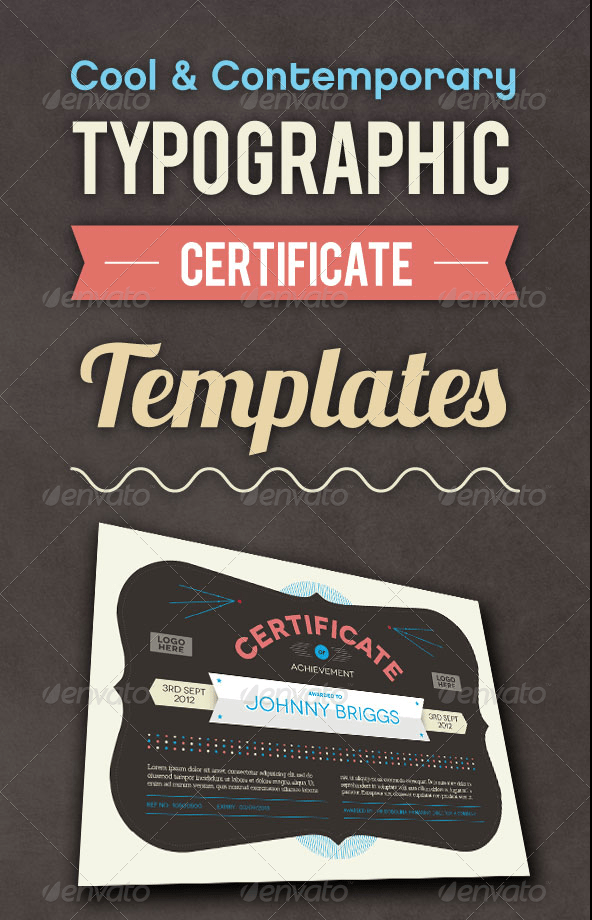 Cool Certificate Templates