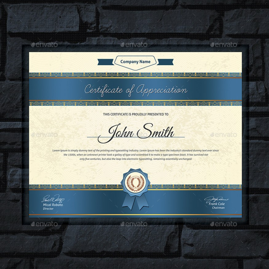 Modern Multipurpose Certificates Templates Pack 2