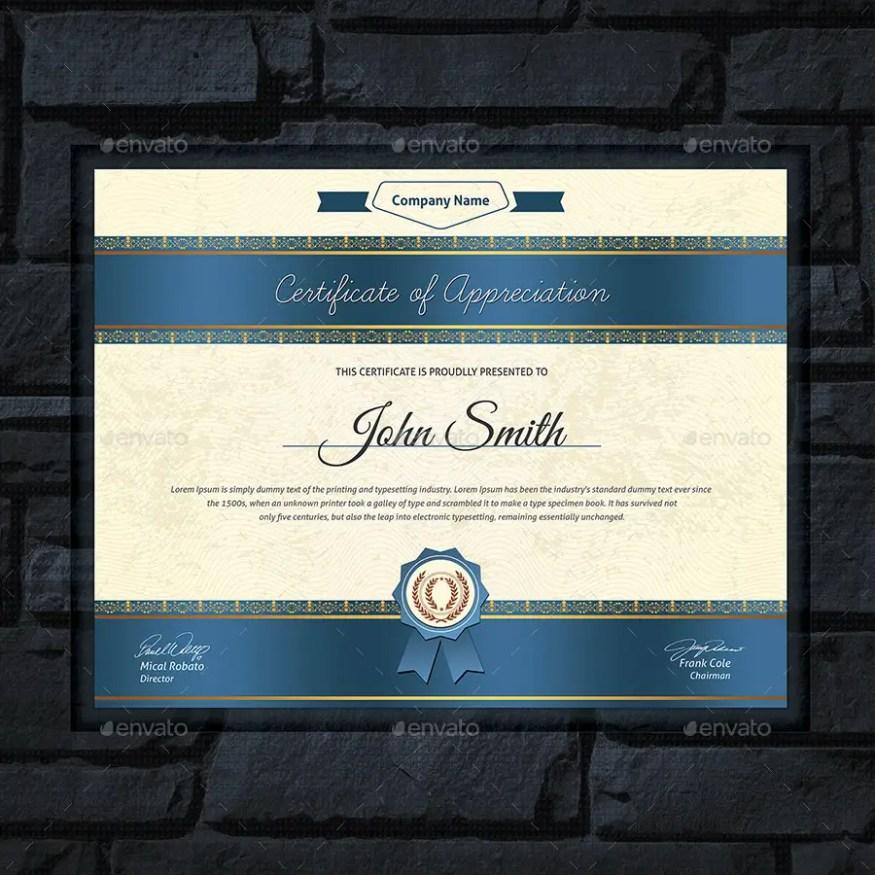 Modern Multipurpose Certificates Templates Pack 2