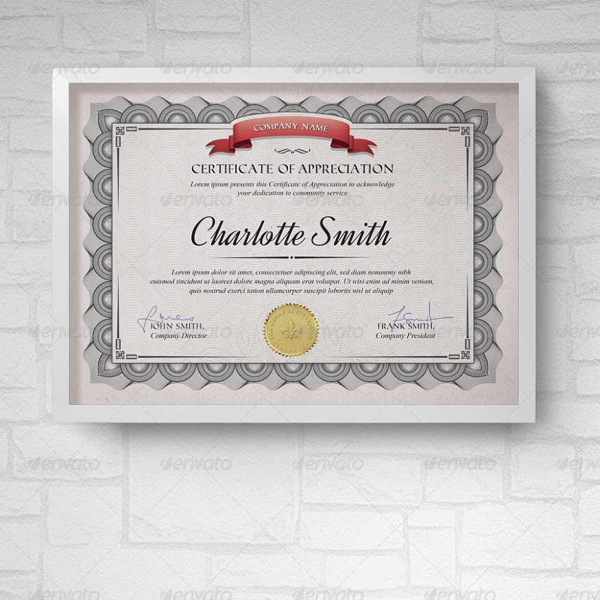50 diploma and certificate templates in psd word vector eps multipurpose certificates ii yadclub Choice Image