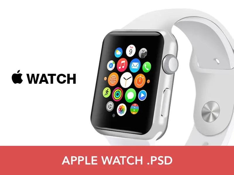 Free Apple Watch PSD