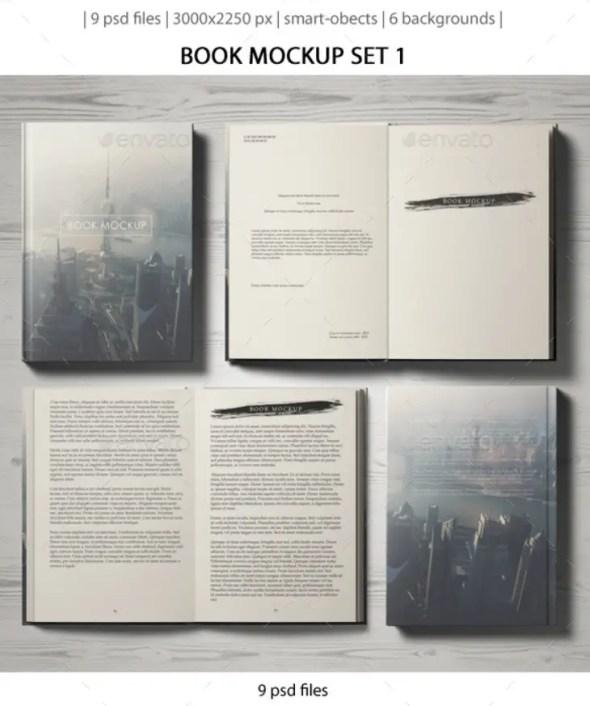 Book Mockup Set