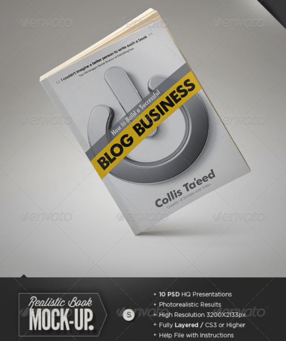 Book Mockup - Softcover Edition